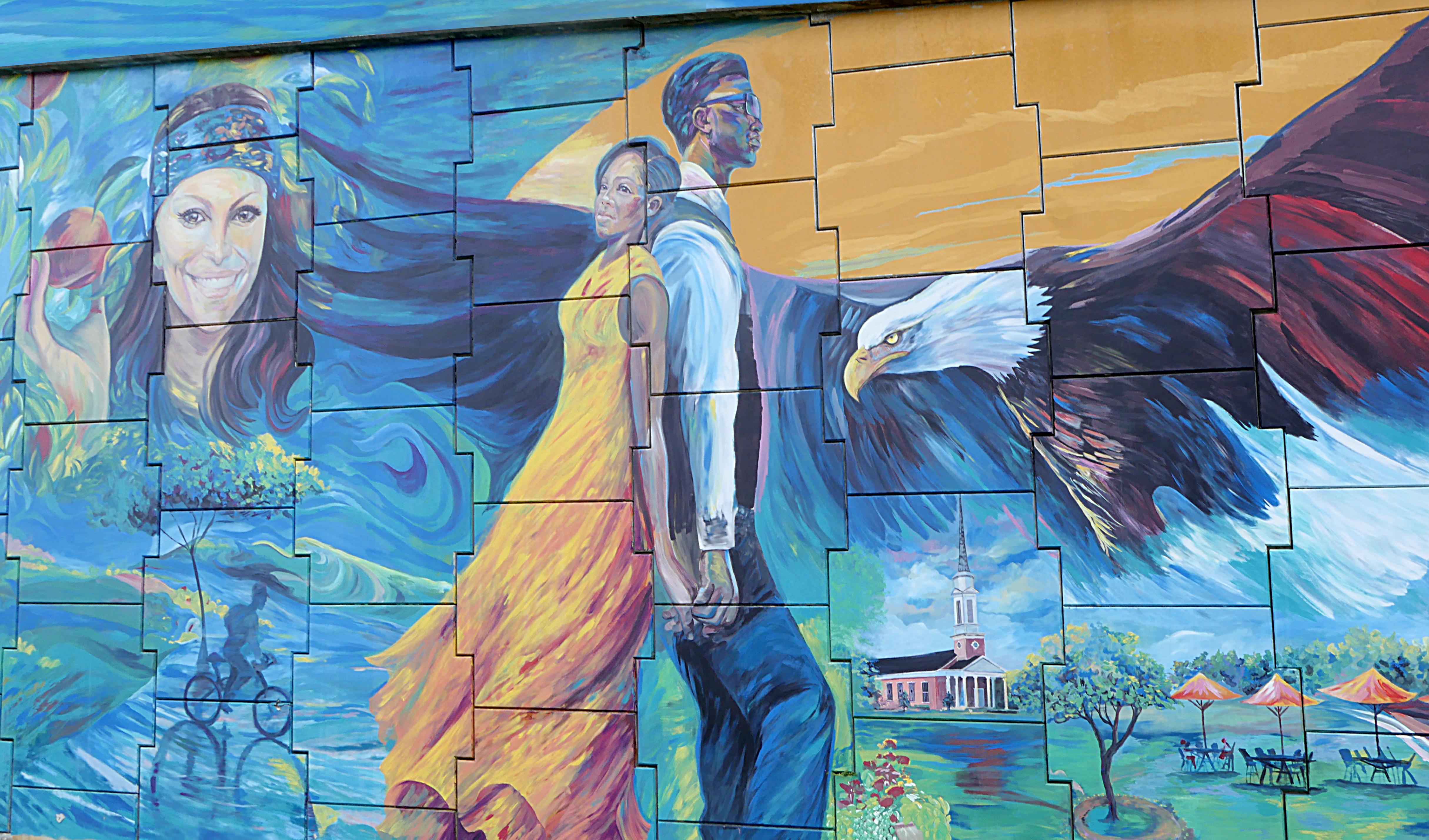 15th Street Overpass Mural Public Art