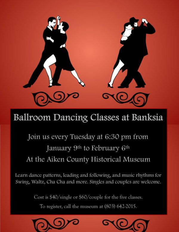 Ballroom Dancing Lessons in Aiken