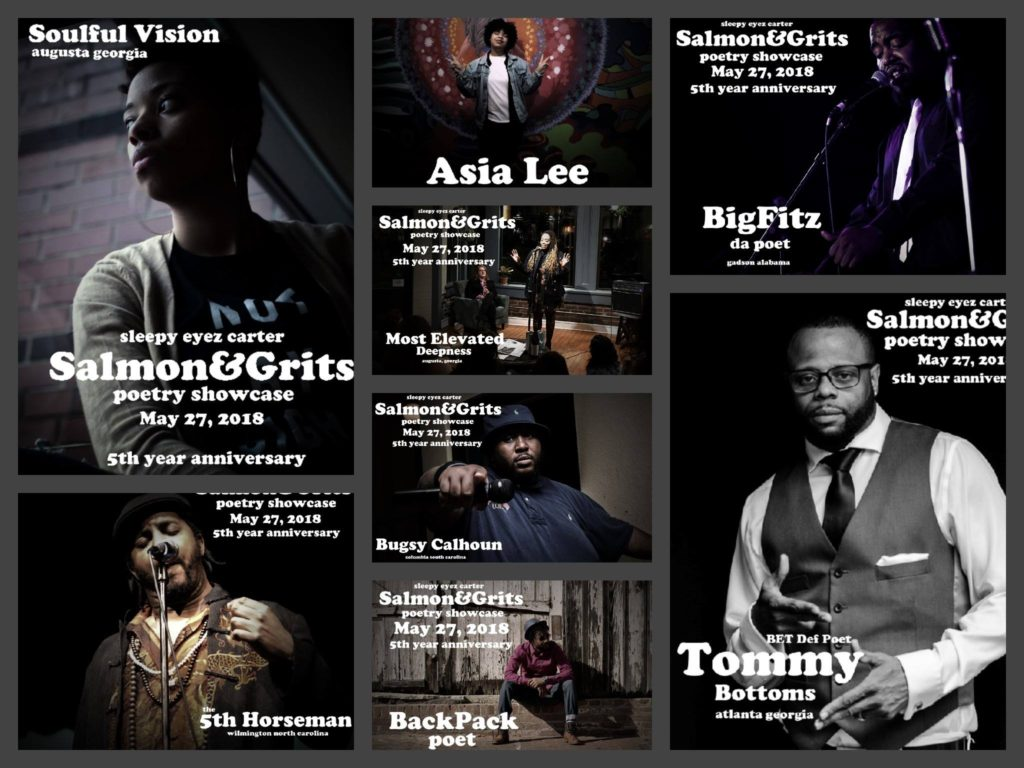Soulful Vision, Asia Lee, Big Fitz, Tommy Bottoms, Back Pack, 5th Horseman, Bugsy Calhoun, and Most Elevated